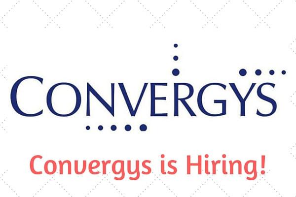 Convergys is Hiring!