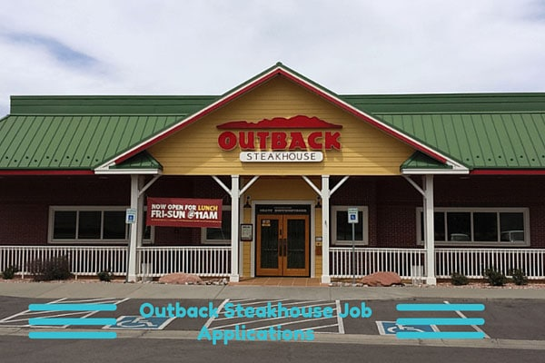Outback Steakhouse Job Applications