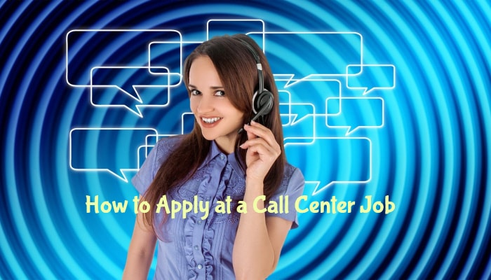 How to Apply at a Call Center Job