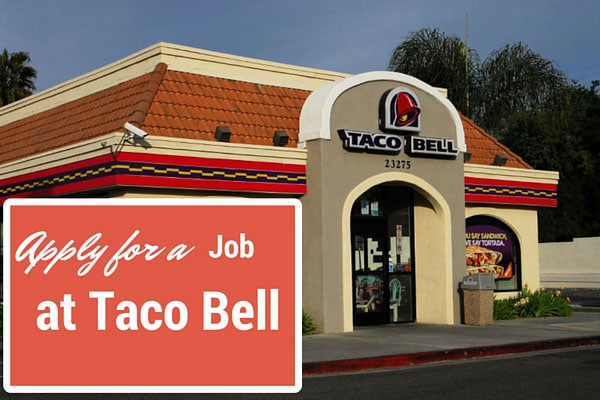 Apply for a Job at Taco Bell
