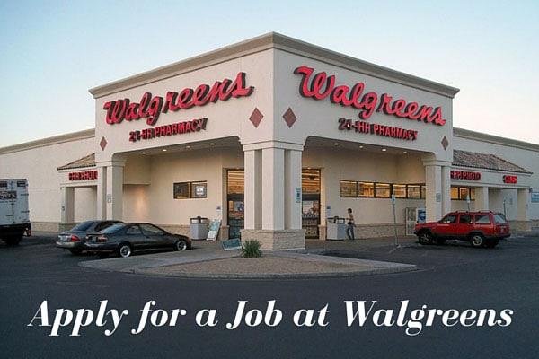 Apply for a Job at Walgreens