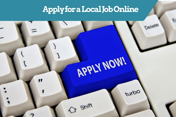 Apply for a Local Job Online