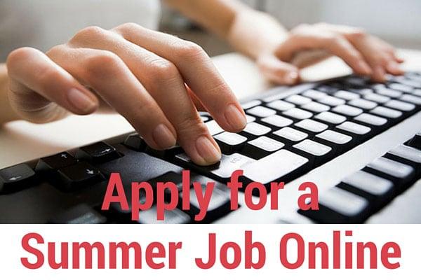 Apply for a Summer Job Online