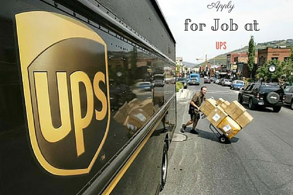 Apply for Job at UPS