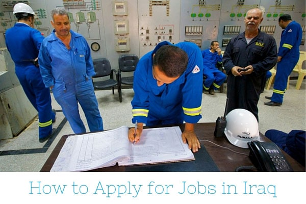Apply for Jobs in Iraq