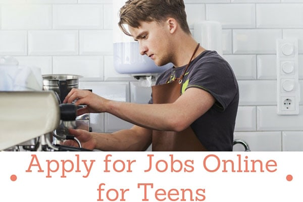 Apply for Jobs Online for Teens