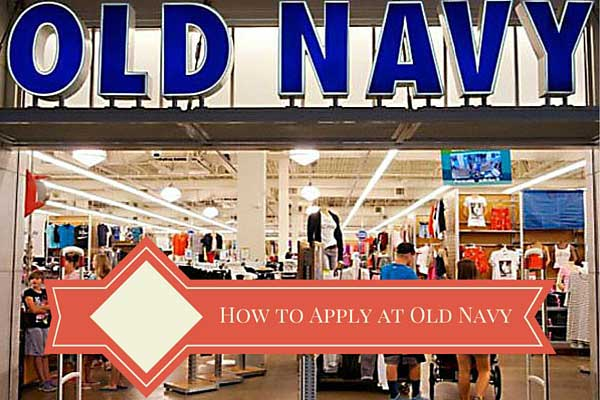 Apply to a Job Old Navy