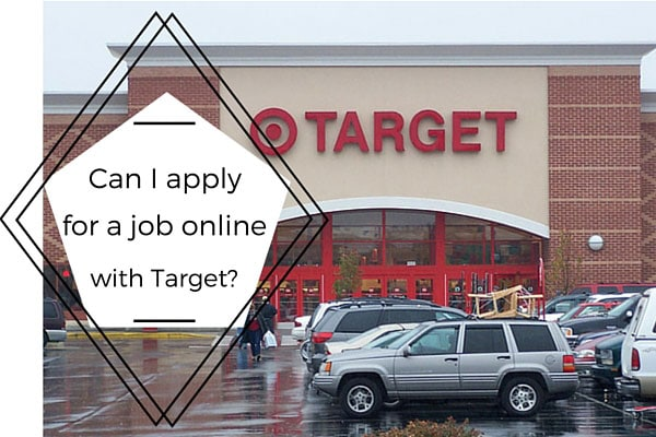 Can I apply for a job online with Target?
