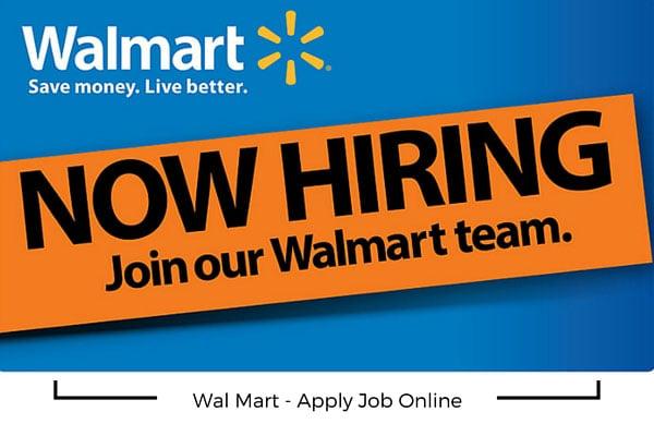 Wal Mart Apply Job Online
