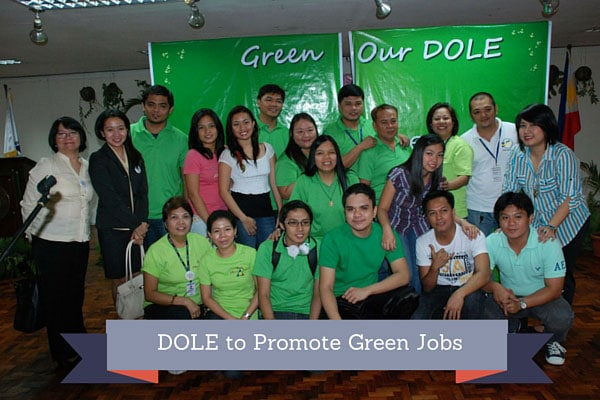 DOLE to Promote Green Jobs
