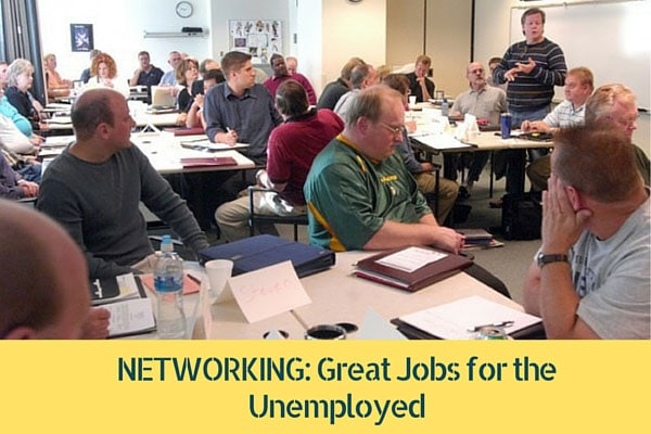 NETWORKING: Great Jobs for the Unemployed