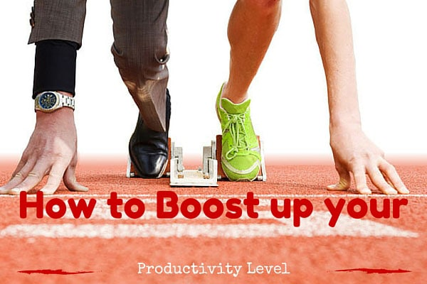 How to Boost up your Productivity Level