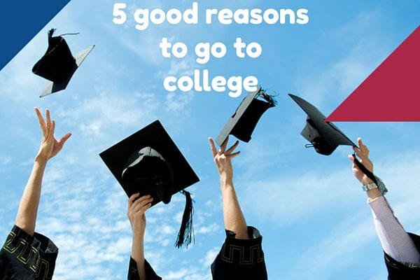 5 good reasons to go to college