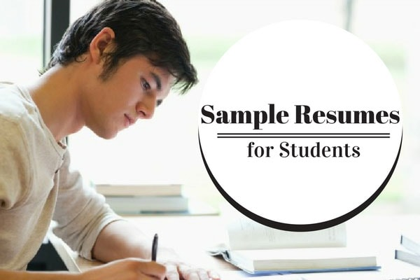 Sample Resumes for Students