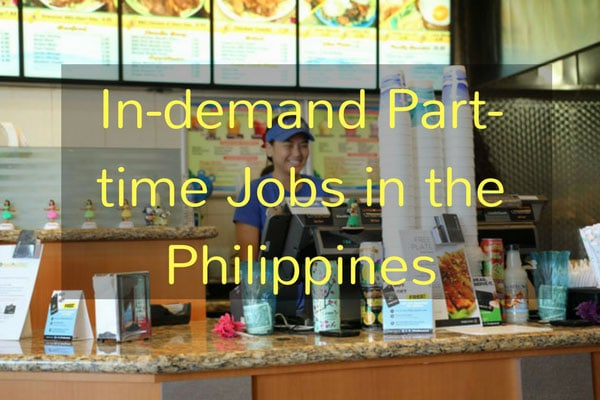In-demand Part-time Jobs in the Philippines
