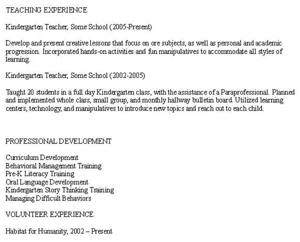 sample resume for secondary teachers in the philippines