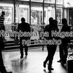 Halimbawa na Nagaaply ng Trabaho