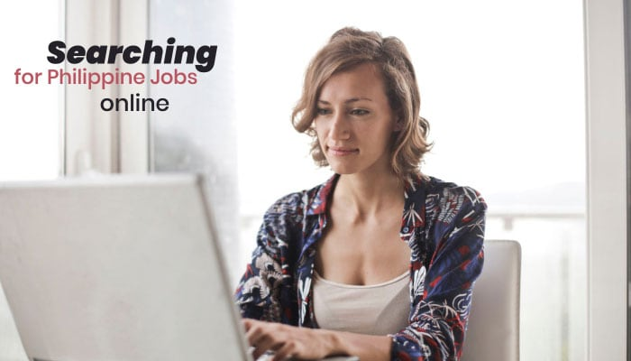 Searching for Philippine Jobs online